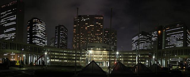 Tokyo Tocho, sorte de mairie de Tokyo, Shinjuku 東京都庁