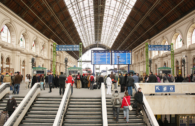 La gare centrale