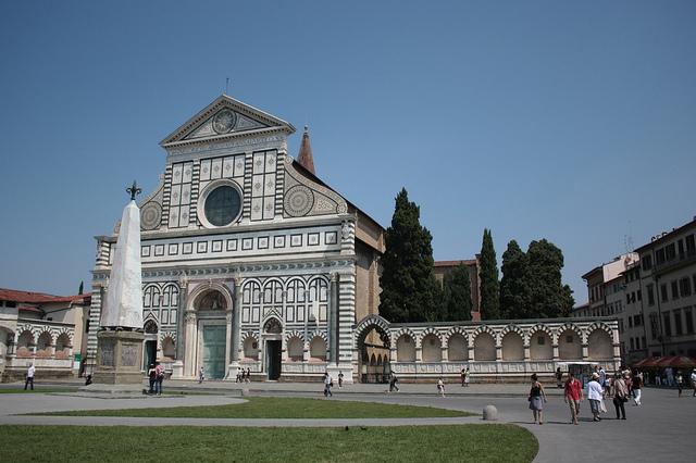 Arrivées à Florence avec 4 heures de retard. Normal…