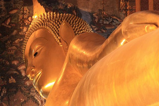 Wat Pho et son bouddha. ワット・フォーと仏さん。