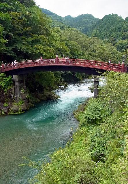 Sinkyo, avec un fleuve bleu et transparent