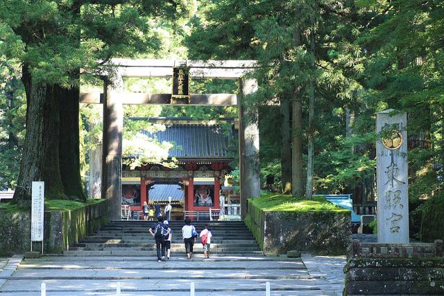 L'entrée de Tosho-gu. Magnifique santuaire richement décoré.