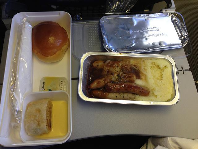 関空→フランクフルト機内食 KIX-FRA breakfast