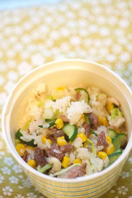 riz contonnais boeuf