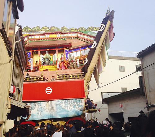 七尾市 Nanao, au nord de Kanazawa.
